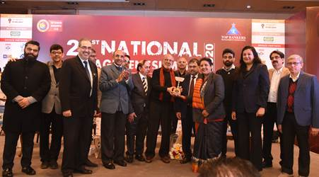 Top Rankers Excellence Awards 2020 For Best Corporate Communication presented To Steel Authority Of India Limited