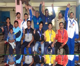 Power Lifting team of RSP bagged 9 gold